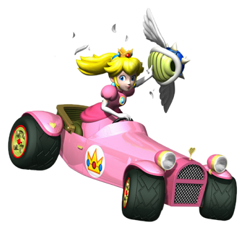 Mario Kart DS Peach   Delfino Plaza